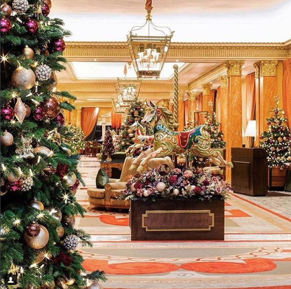 Christmas Trees Dorchester: Floral Christmas Trends 2018