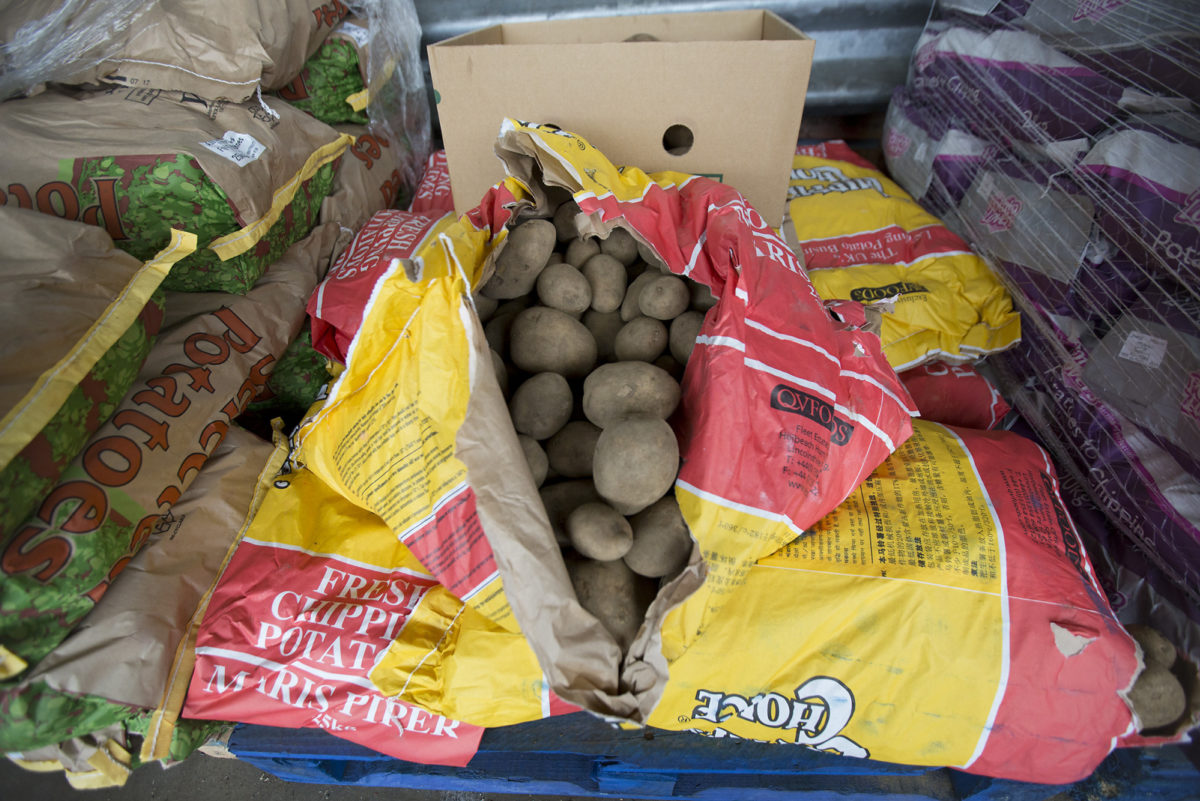 Fruit And Veg Customer Profile April 2017 City Harvest Split Potatoes