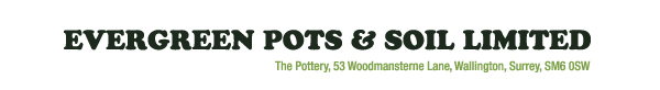 Evergreen Pots And Soil Logo